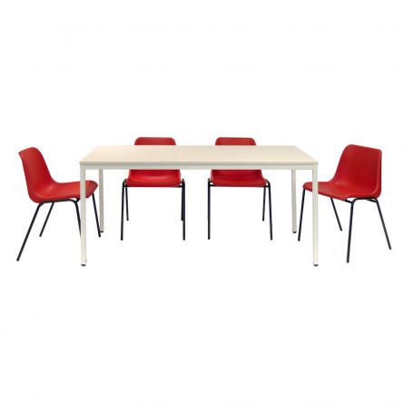 Tables de cantine pour refectoire caray collectivit s - Serviette de table pour cantine ...